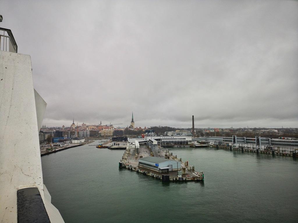 The Tallinn Passenger Port or the Old City Harbor, MS Silja Europa, 22h cruise, Helsinki-Tallinn-Helsinki